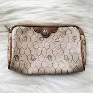 Christian Dior Vintage Honeycomb Pouch